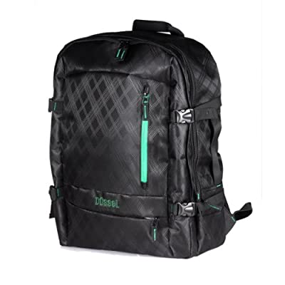 "Dussel Laptop ""Atherton"" Backpack for Aircraft Cabin / Hand Luggage for Easyjet Ryanair for up to 17"" Laptops 55 X 40 X 20 cm"