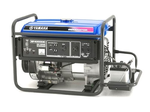 Yamaha EF4000DE 4,000 Watt 251cc OHV 4-Stroke Gas Powered Portable Generator With Electric Start (CARB Compliant)