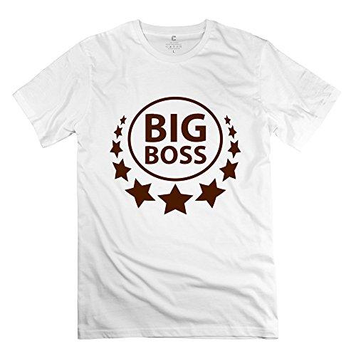 Big Boss Funny Man T Shirt