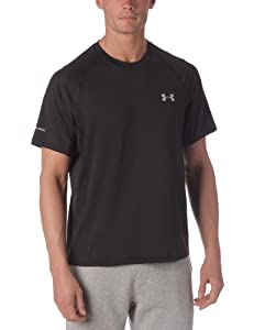 Under Armour Coldblack Run Shortsleeve T-shirt de running manches courtes homme Noir XL