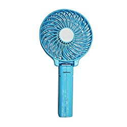 Memore Mini Portable & Rechargeable Hand Fan (Colour may vary)