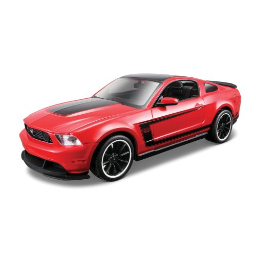 maisto-124-build-your-own-diecast-special-edition-ford-mustang-boss-302-kit