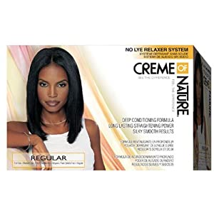Creme of Nature No Lye Relaxer System: Regular