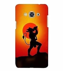 Lord Hanuman 3D Hard Polycarbonate Designer Back Case Cover for Samsung Galaxy J3 Pro