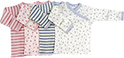 Under The Nile Long Sleeve Shirt, Blue/Stripes, 3-6 Months