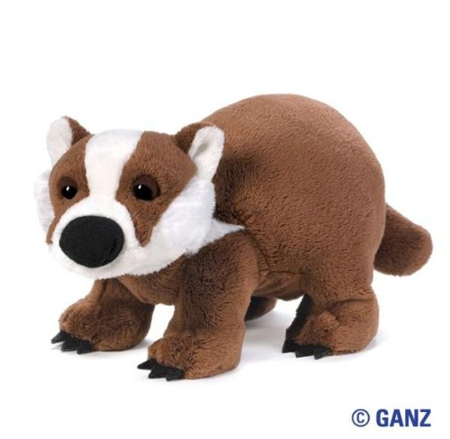Webkinz Badger with Trading Cards - 1