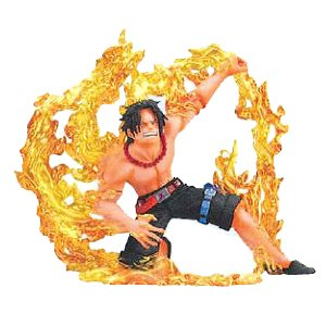 One Piece Super Effect - Devil Fruit User Vol. 4 Figur: Portgas D. Ace