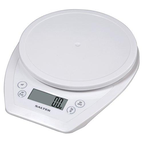 Salter 1020 Aquatronic Electronic Kitchen Scale, White
