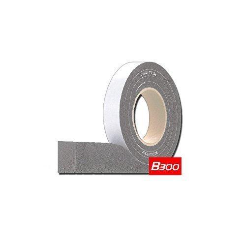 Kompriband B300 Grau 1 Rolle Größe: 15/2 - 5mm - 10m Fugendichtband Dichtungsband Dichtband Quellband