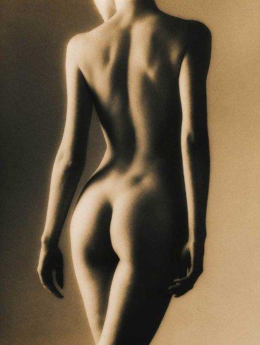 Sepia Female Duotone Akt Poster Erotik Poster schwarz-weiss nackte hot Girls schöne Frauen - Grösse 61x91,5 cm