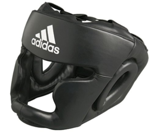 Adidas Response Boxing Head Guard CE - Black - X-Large