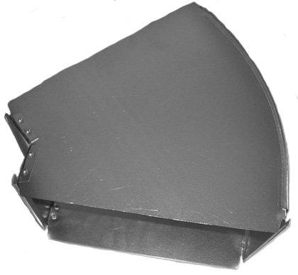 Midwest Ducts Broadway 45 Degree Angle - 16 x 8 Inches