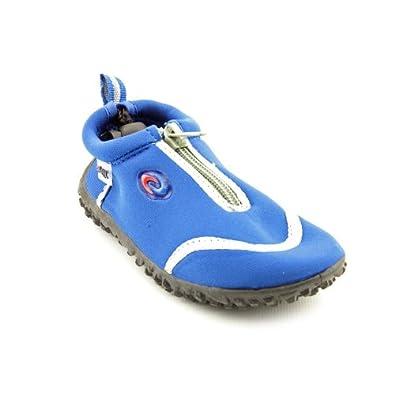 553660d93211 Frisky Zip-Up Toddler Girls Water Shoes Aqua Socks 5-10