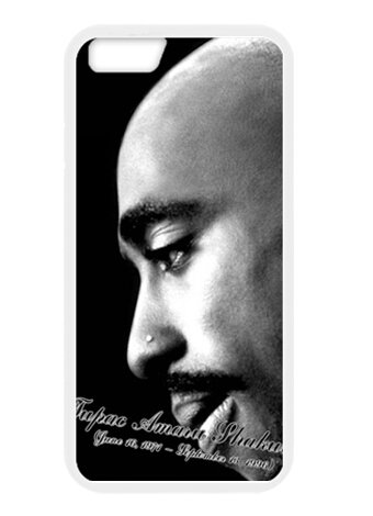 Cartrol 2Pac Shakur Rest In Peace Wallpaper Waterproof Dustproof Shock-Absorbing Custom Phone Case Cover For Apple Iphone 6 front-370307