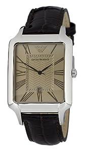 Emporio Armani Herren-Armbanduhr Classic Collection Analog Leder AR0426