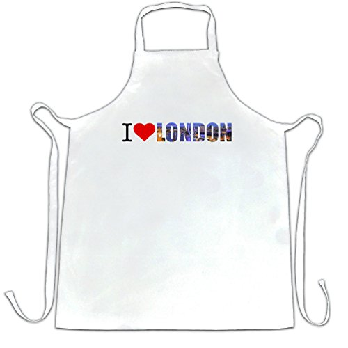 I Heart London England Love Capital City Apron. (Chef Tim Love compare prices)