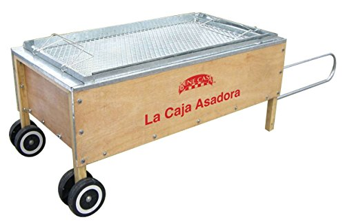 BC Classics Bene Casa Caja Asadora Large Pit Barbecue Portable Pig Roaster (China Box Pig Roaster compare prices)
