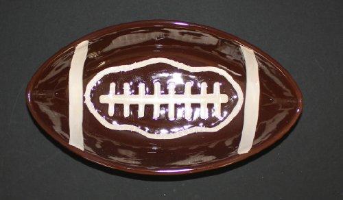 Ceramic Football Platter 12