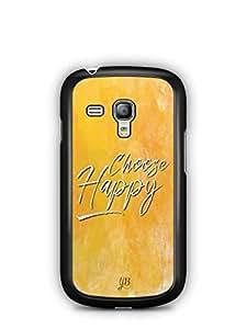 YuBingo Choose Happy Designer Mobile Case Back Cover for Samsung Galaxy S3 Mini