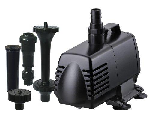 Hampton Water Gardens AHM82445 Pump/Fountain Head Kit for Aquarium Filter, 1000-Gallon (1000 Gal Water Tank compare prices)