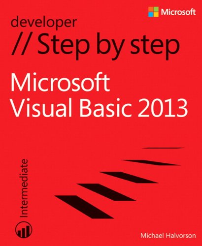 Microsoft Visual Basic 2013 Step by Step (Step