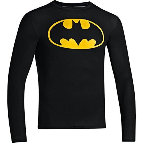 Under Armour Mens Alter Ego Batman Compression Long Sleeve Shirt