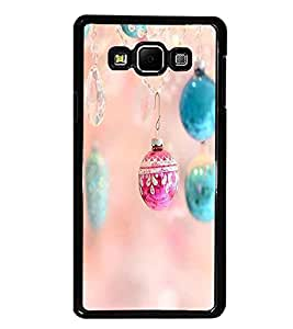 PrintDhaba Pendent D-2295 Back Case Cover for SAMSUNG GALAXY A8 (Multi-Coloured)