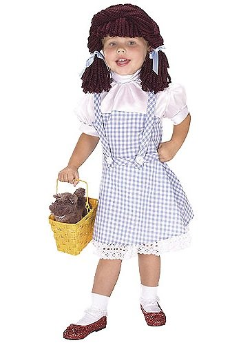 Dorothy Yarn Baby Costume: Toddler's Size 2T-4T