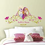 (18x40) Frozen Spring Time Custom Headboard Wall Decal
