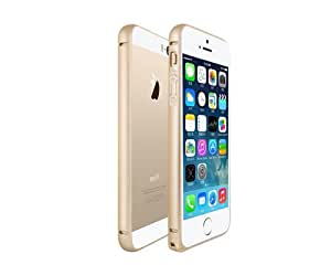 Bumper Series Premium Ultra Slim Thin Aluminum Metal Ring Bumper Case Cover for iPhone 6 Plus iPhone 6+ with 5.5 inches Screen + Free touch screen stylus pen - Gold