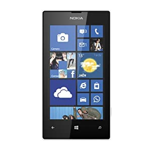 "Nokia Lumia 520 - Smartphone libre Windows Phone (pantalla 4"", cámara 5 Mp, 8 GB, Dual-Core 1 GHz, 512 MB RAM), blanco"