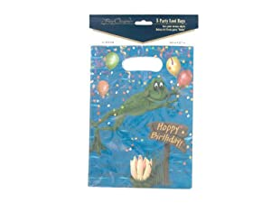 """""""Swamp Party"""" loot bags, pack of 8 - Case of 48"""