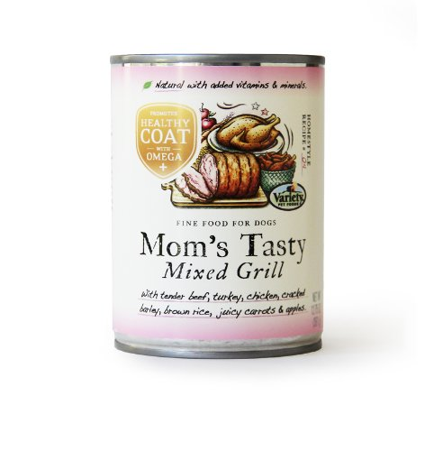 Homestyle Recipes Plus, Mom'S Tasty Mixed Grill, 12/12.75-Ounce Cans, Natural Dog Food