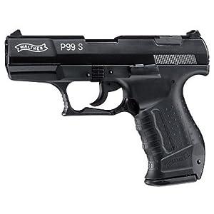 Walther P99 S Blank Gun, Black