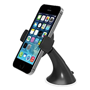 iOttie Easy View Universal Car Mount Holder for iPhone 6 (4.7) /5s/5c/4s - Retail Packaging - Black