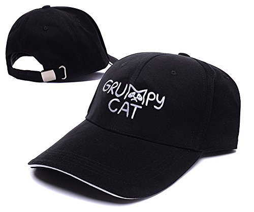 XINMEN Grumpy Cat Logo Adjustable Baseball Caps Unisex Snapback Embroidery Hats