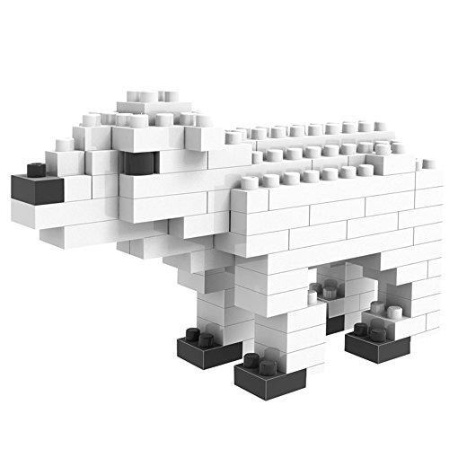 LOZ mini Diamond blocks building set - Polar Bear