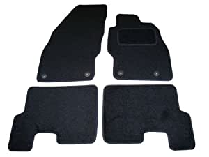 Sakura Car Mats in Black for Vauxhall Corsa D (Fits 2007 on Models)