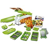 Genius Nicer Dicer Plus As Seen on TV Multi Chopper 12 Pieces