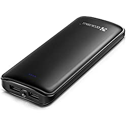 Batería Externa Portátil,Power Bank Coolreall 15600mAh
