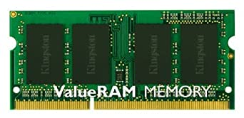 Kingston ValueRAM 2GB DDR3 1333 (PC3-10600) Laptop Memory, 204-Pin SO