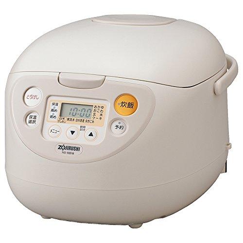 象印 マイコン炊飯器 極め 1升 ベージュ NS-WB18-CA