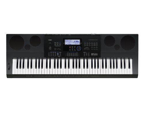 Casio Inc. Wk6600 76-Key Workstation Keyboard With Power Supply