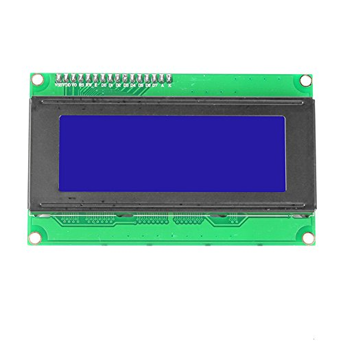Sainsmart Ttl Serial Enabled 2004 20X4 Lcd For Arduino, 5V, Blue Backlit Screen