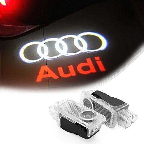 4BetterCarLife Easy Installation For Audi HD Car Door Welcome Logo Projector Light Changeable Logo Lens Replacement LED Ghost Shadow Courtesy Lamp (Buick Emblem Light compare prices)