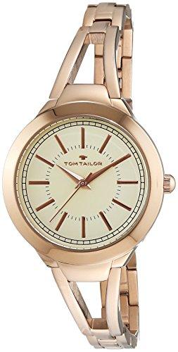 tom-tailor-5413803-montre-femme-quartz-analogique-bracelet-acier-inoxydable-or-et-rose