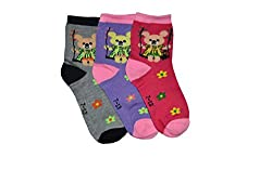 Gumber Kids Socks (Pack of 3) (jr_3-7_11_3pc_Assorted)