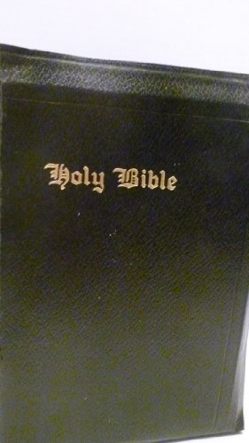 Illuminated Bible 1941 Leather 1143 Pages, Thumb Index Collation Of Scriptures, Parables, Concordance, Fold Out Map, Index To Biblical Place Names, Chronology Of The Bible, Paul'S Life Indexed Special 200 Page Index, Teaching Discourses Of Christ front-1033676