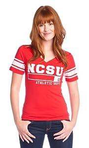 Buy NCAA North Carolina State Wolfpack Football Tee Ladies by Wishbone