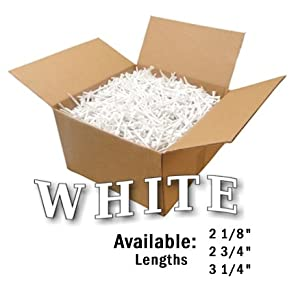 Premium Golf Tees by JP Lann (1000 Count Bulk Boxes) Available in 4 Sizes: 2 1 8 - 2... by JP Lann